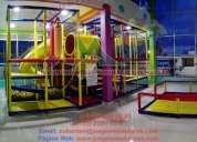 Juegos infantiles para espacios comerciales y a la medida de tus necesidades