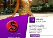 Viernes 10 en csw: ¡garota con tres bailando samba desnudas!