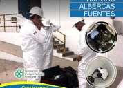 Limpieza a cisternas y tinacos