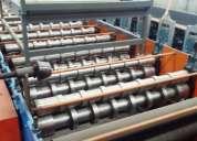 Maquina para fabricar teja de lamina
