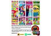 payasos/tatiana/frozen/botargas. espectaculos musicales para fiestas infantiles