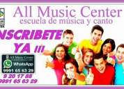 All music center - escuela de música y canto