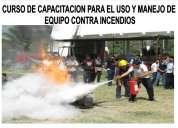 Cursos certificados de uso y manejo de extinguidores en tijuana