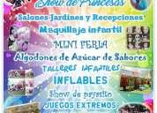 Servicios para eventos y fiestas infantiles