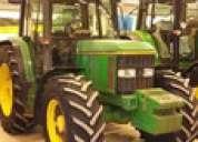 Tractor agricola 6400 john deere año 1991