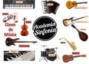 clases de música en academia sinfonía