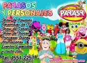 payasos y personajes para fiestas infantiles y eventos especiales