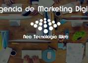 agencia de marketing digital - neo tecnología web