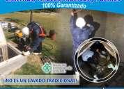 Limpieza y desinfeccion a cisternas