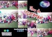 Show de spiderman hombre araÑa luna shows puebla