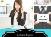 Customer service turno de la tarde
