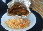 Mixiotes de pollo y cerdo don cerdo desde $60