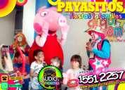 Show musical de payasos con peppa pig - df/edomex