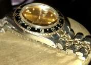 Reloj vintage rolex gmt-master chronometer authentico en bueno estado