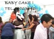 Baby shower, animadoras,decoración y mesa de dulces!!