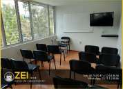 Alquiler aulas para cursos desde $120 pesos