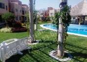 venta casas cpn alberca en morelos en 3 niv. roof garden 3 rec