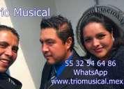 Contratar trios musicales edo mex
