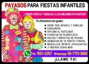 Payasos para fiestas infantiles - cdmx y edomex