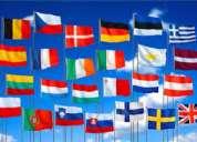 Traductores de idiomas: alemÁn, italiano, holandÉs, entre mÁs lenguas...