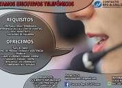 solicito ejecutivos telefonicos