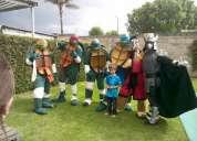 Show de las tortugas ninja en puebla