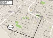 Terreno con 269mts a 15 calles del palacio municipal