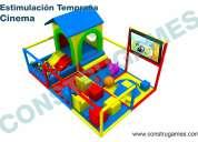 Juegos infantiles para plazas comerciales y salones de fiestas resbaladeros gigantes zonas de brinca