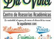 Asesorías de matemáticas en el centro de oaxaca