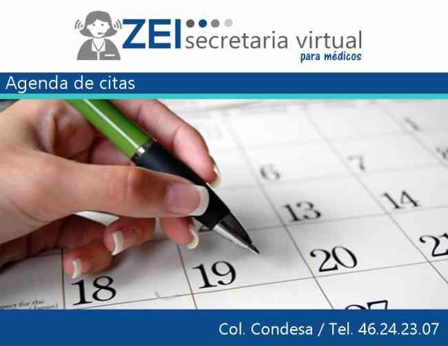 SECRETARIA VIRTUAL para médicos desde $ 990 pesos mensuales