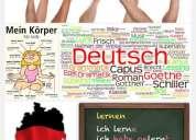 Imparto clases de alemán.