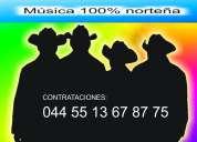 Grupo norteÑo 044 55 13 67 87 75