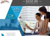Renta una oficina virtual en ciudad de méxico, incluye domicilio fiscal y comercial.