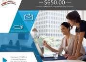 Oficinas virtuales desde $650 en polanco