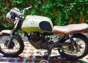 Excelente moto cafe racer