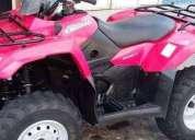 Excelente cuatrimoto suzuki 400 cc. king quad 4x2 -09