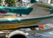 Linda moto acuatica yamaha wave runner 700
