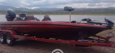 Excelente Lancha Bass Boat Charger 250hpdi