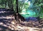 Excelente terreno en bosque para cabaña