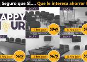 Renta aulas para cursos desde $99 pesos col. condesa