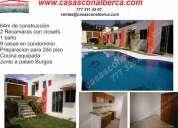 9 casas con alberca, morelos, zona artesanal de cuernavaca