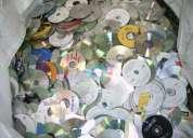 Compra y venta de cd y dvd para reciclar