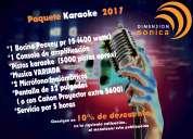 Renta de karaoke para tus parrilladas
