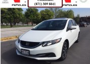 Peñoles remata honda civic 2015 4p ex sedan l4 1.8 aut