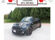 Peñoles remata mini cooper works 2016 convertible aut, piel,2 pta