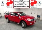 Peñoles vende ford ranger 2014