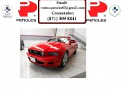Peñoles remata ford mustang 2014 2p gt convertible v8 5.0l aut