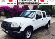 Peñoles remata ford ranger 2012 pickup xl l4 crew cab 5vel a/a