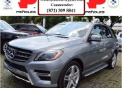 Peñoles remata mercedes benz clase m 2014 ml5005p 500 v8 4.7 bt aut