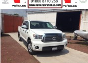 Peñoles vende toyota tundra 2010 4p ltd 5.7l aut v8 4x4 doble cab